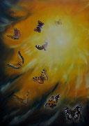 Tempesta solare - Olio su tela - 70x50 - 2012