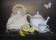 Lemon Tea - Olio su Tela - 50x70 - 2013
