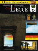 Copertina Catalogo Biennale Lecce 2010