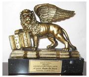 Trofeo Leone d'oro per l'arte 2011