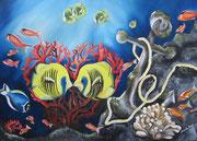 Il Corallo dell'Amore - Olio su Tela - 50x70 - 2012