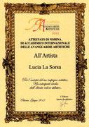 Nomina Accademico delle Avanguardie Artistiche