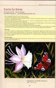 """Pagina n.40 Catalogo """"Artisti a Confronto"""" 46^ Edizione Rassegna Internazionale di pittura Città di Mottola"""