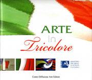 """Copertina Libro """"Arte in Tricolore"""""""