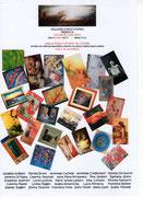 """Locandina Mostra """"Colori in concerto"""" Galleria Stomeo"""