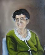 Zia Tonia - Olio su tela - 50x40 - 2008