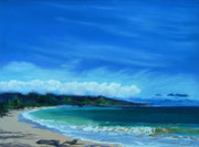 """""""Baldwin Beach Park"""" Pastell,22x29cm, UART 400, Unison, (C)D.Saul 2017"""