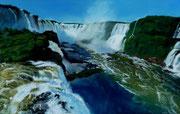 """""""Las cataractas del Iguazu""""Pastell 37x59cm (c)D.Saul 2014, Ref. M.Guth"""