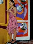 """""""?Por que?"""" Pastell 29x39cm, (c) D.Saul 2014"""
