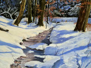 """""""Weiltalwinter"""" Pastell,21,5x29cm, UART 400 mounted board,Terry ludwigs, (C)D.Saul 2017"""
