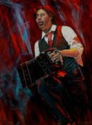 """""""Bandoneon"""" Pastell 29x39cm,(c)D.Saul 2014"""