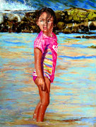 """""""Leilani´s Playground"""", 9x12inch, Pastell  (C) D.Saul 2021"""