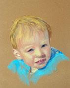 """""""Paul"""", Pastell, 40x50cm.(c)D.Saul 2013"""