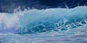 """""""Pacific Breeze"""" Pastell, 23x57cm, 40x60 gerahmt, (C) D.Saul 2021"""