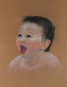 """Phillipp"", Pastell, 40x50cm, (c)D.Saul 2013"