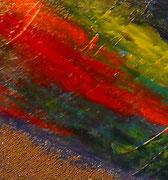 voie lactée, vue zoom2, tableau abstrait. abstraction