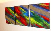 voie lactée, vue côté2, tableau abstrait. abstraction