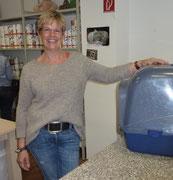 Annette, Vorstandsmitglied, zuständig für Facebook, Spendenquittungen, Futtereinkauf u.v.mn