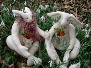Cashmere Hares     Dressed     650 euros each        $845 each