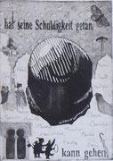 unbetitelt, 2018, Radierung / Aquatinta 27x20 cm