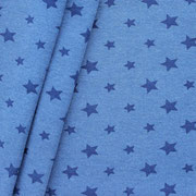 sterne blau meliert