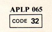 Catalog Number