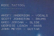 Band Info