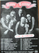 Tourposter 2004 with Tourdates