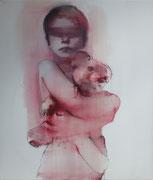 boa chica, 2014, Öl auf Leinwand, 120 x 100 cm