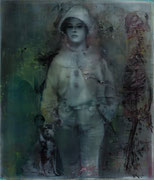 La clef des songes, 2013, Öl auf Leinwand, 140 x 120 cm