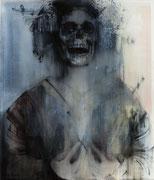 Jeux interdits, 2014, Öl auf Leinwand, 140 x 120 cm