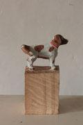 VERKAUFT !!! Edekahund Nr. 1281 - Hund 2018 Linde  25 x 11 x 11 cm