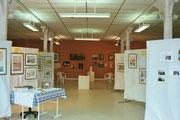Salle d'exposition à la Filature