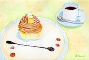「安納芋のモンブラン」