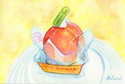 「まるごと白桃タルト」