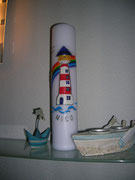 """Leuchtturm """"Die Elegante"""""""