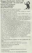 Vorberichterstattung Wasgau-Anzeiger, 7. April 2011
