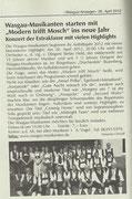Vorankündigung Wasgau-Anzeiger, 26. April 2012