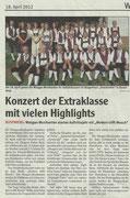 Vorankündigung Wochenblatt Bad Bergzabern, 18. April 2012