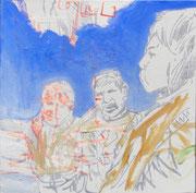 Three kids 40 x40 cm 2011