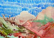 Landscape (stambecco) 100x70, 2011