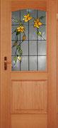 GW-13    Blüten und Blätter auf Altdeutsch K, Stiltür