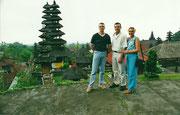 En el Templo de Besakih
