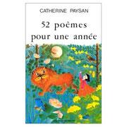 52 poèmes pour une année couverture