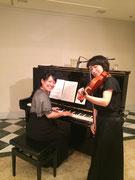 ヴァイオリン、ピアノデュオ(クラシック)