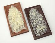 Weihnachtsschokolade Vollmilch oder Zartbitter (Saisonartikel)