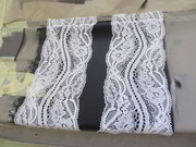 elastic lace strips