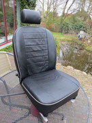 used leather seat cover