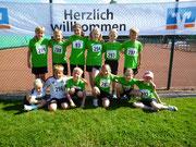 Die Kinder der Leichtathletikgruppe