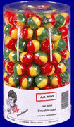 Fruit Ball, 100 pcs/jar